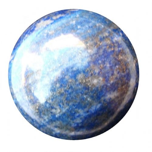 Lapis Lazuli Fortune Telling Ball Gemstone Crystal Sphere 55mm 260g (LB15)